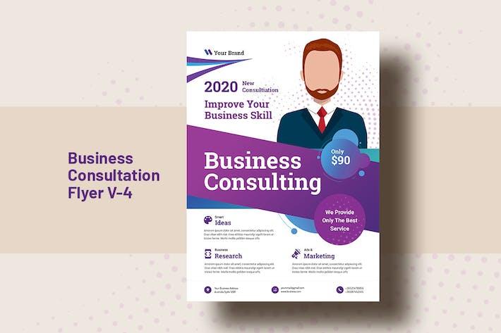 Thumbnail for Business Consultation Flyer Template V-4