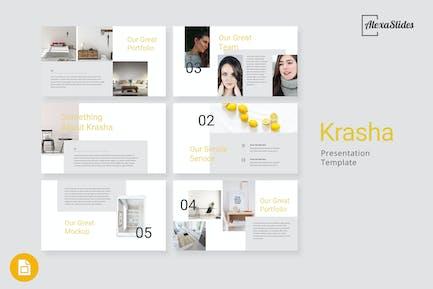 Krasha - Creative Google Slides Template