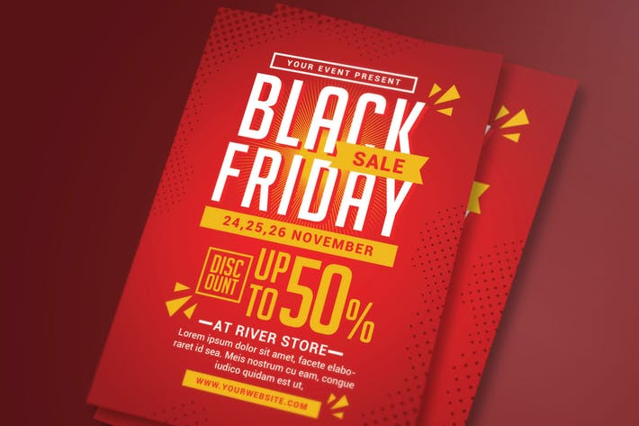 Thumbnail for Black Friday Sale Flyer