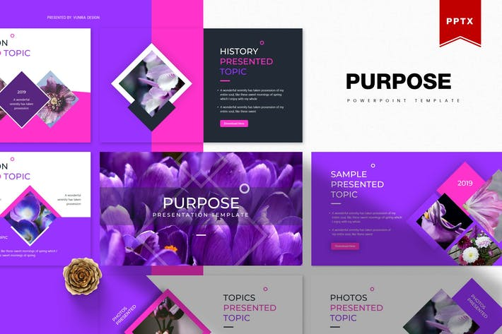 Thumbnail for Purpose | Powerpoint Template