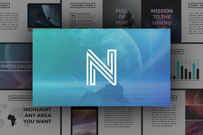 Thumbnail for Neptune - PowerPoint Template