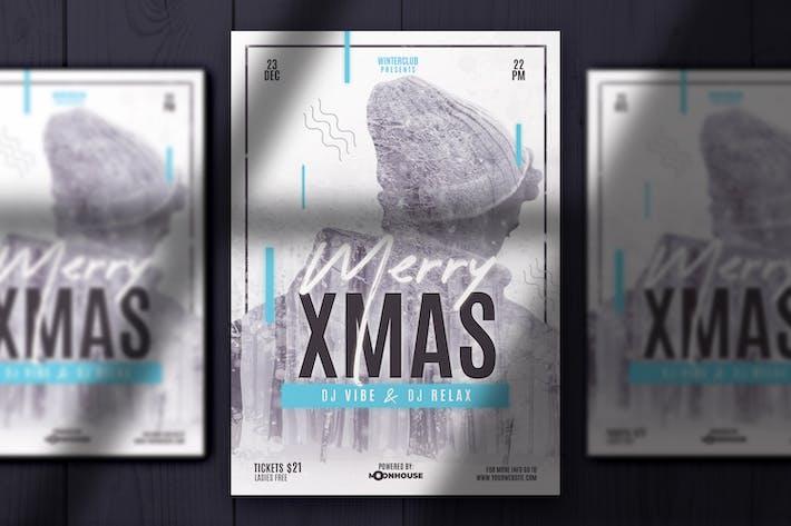 Thumbnail for Рождественская двойная экспозиция Флаер
