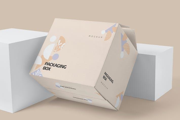 7 Packaging Box Mockups