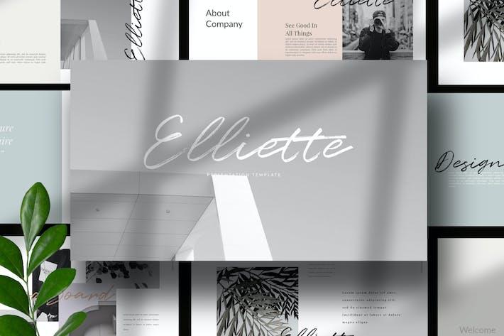 Thumbnail for Elliette - Keynote Multipurpose Creative