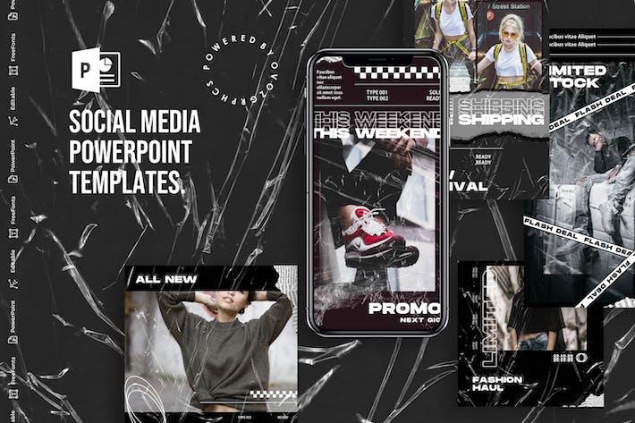 Thumbnail for Соблазнить в социальных сетях PowerPoint