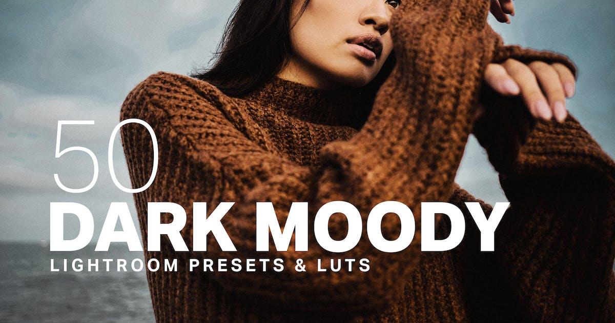Download 50 Dark Moody Lightroom Presets LUTs by sparklestock