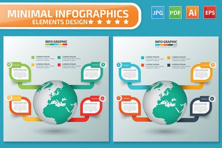 Globales Infografiken Design