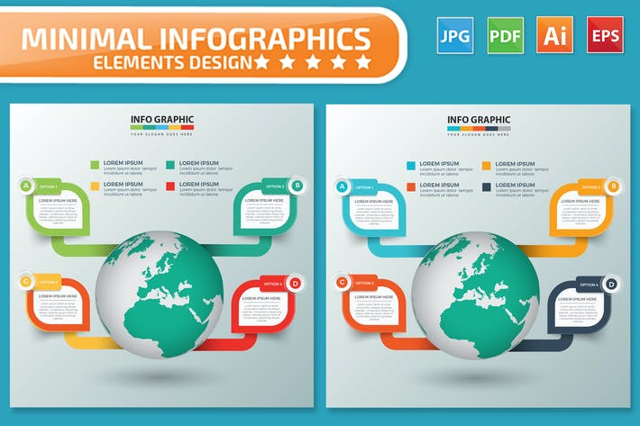 Global Infographics design