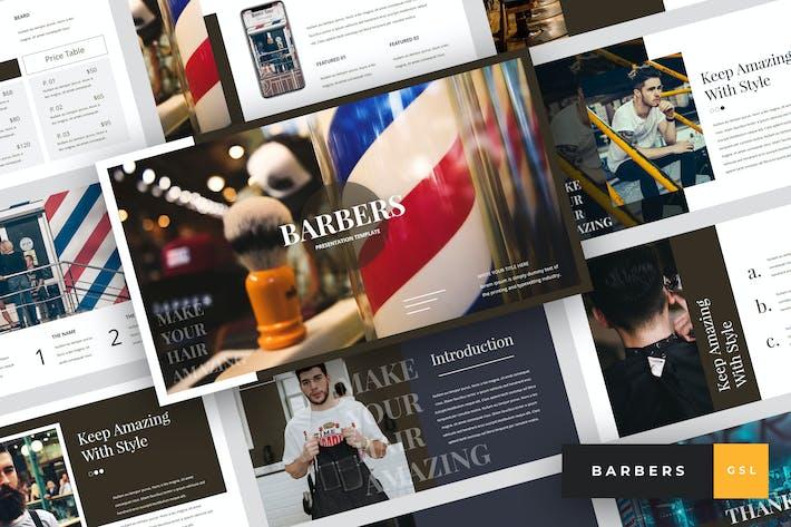 Barbers - Barbershop Google Slides Template
