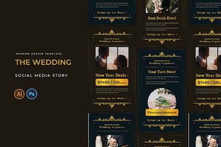 Wedding Organizer Instagram Story