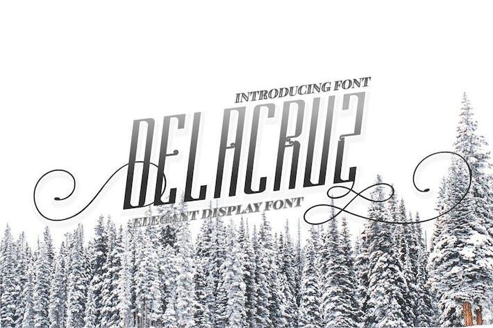 Thumbnail for Delacruz - Elegant Display Font