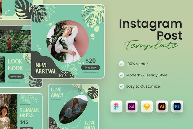 Fashion Instagram Post Template
