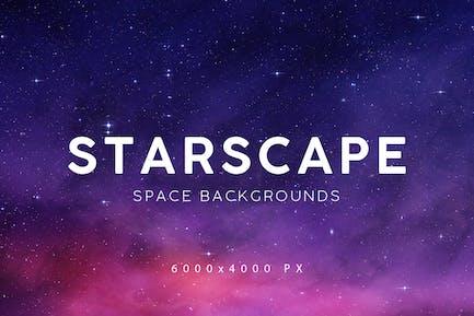 Космический Звездный Пейзаж Фоны 2