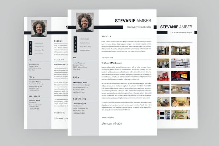 Thumbnail for Stevanie Creative Resume Designer