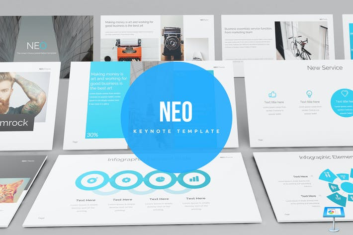 Thumbnail for Neo Keynote Template