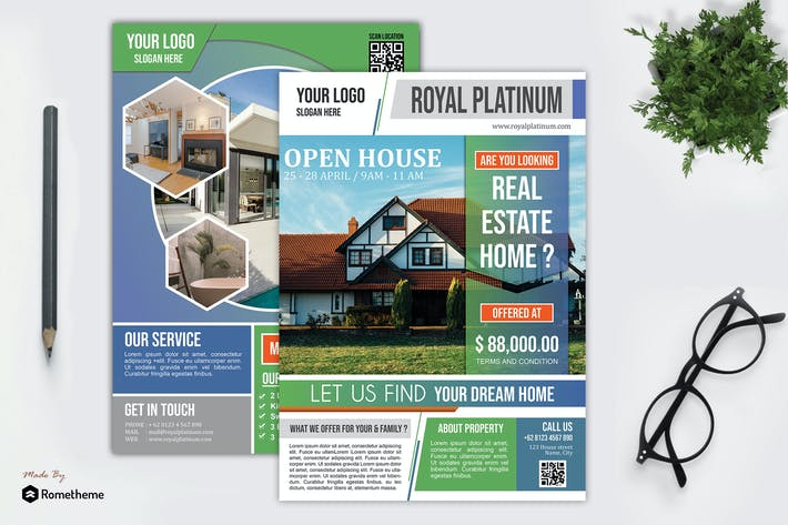 Thumbnail for Real Estate Flyer vol.05