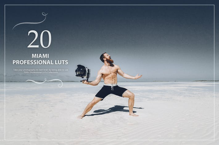 Thumbnail for 20 Miami LUTs Pack