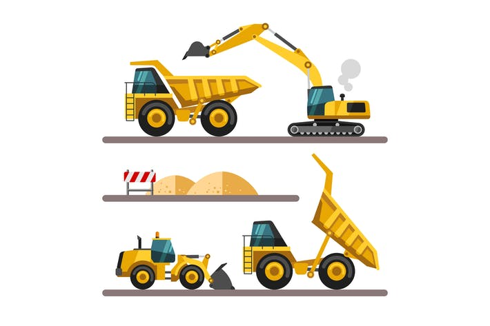Cover Image For Construction Machinery