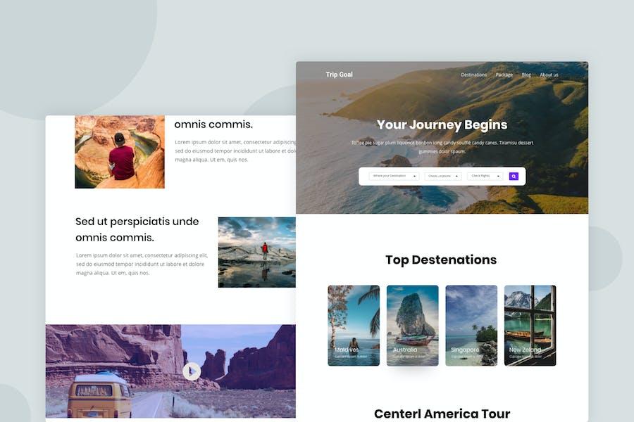Trip Planner - Email Newsletter