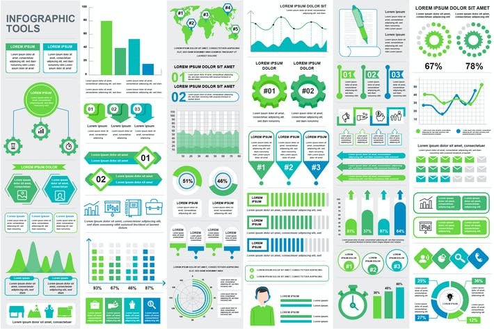 Thumbnail for Presentation Infographics Template