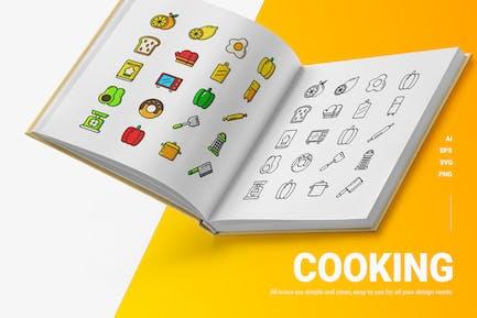 Kochen - Icons