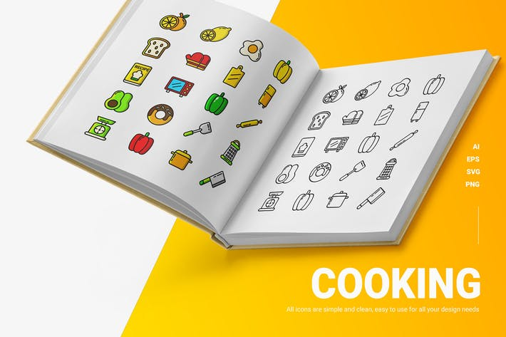 Cooking - Icons