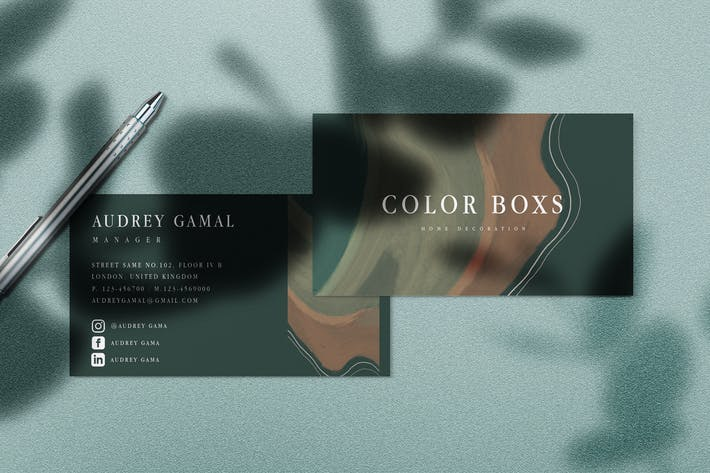 Thumbnail for Color Box Business Card