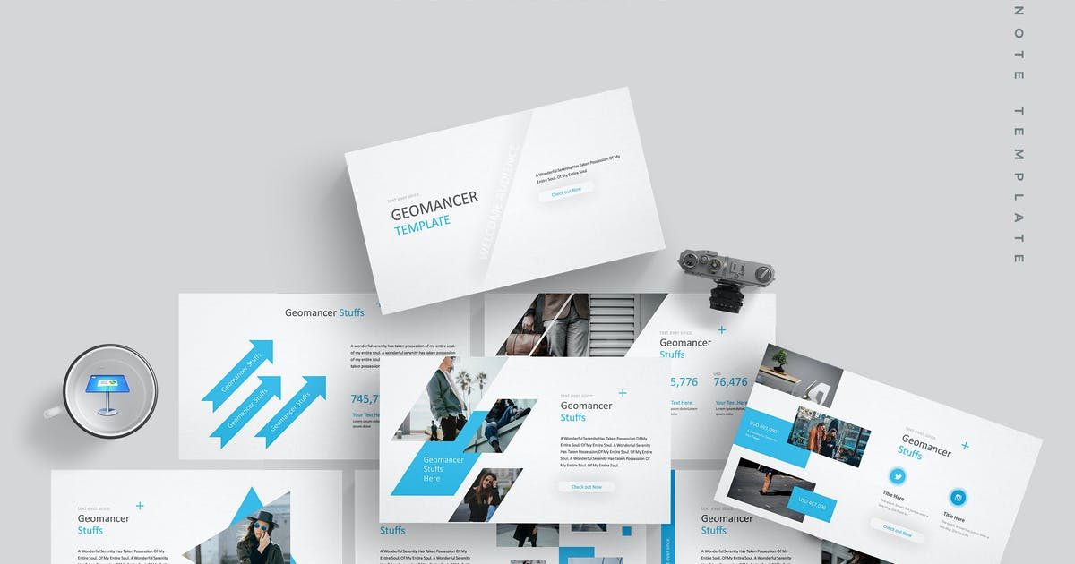 Download Geomancer - Keynote Template by aqrstudio