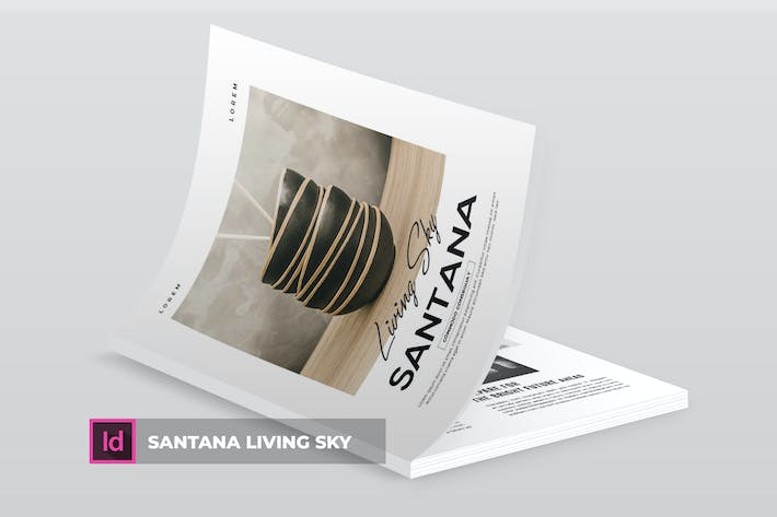 Thumbnail for Santana Living Sky | Magazine Template