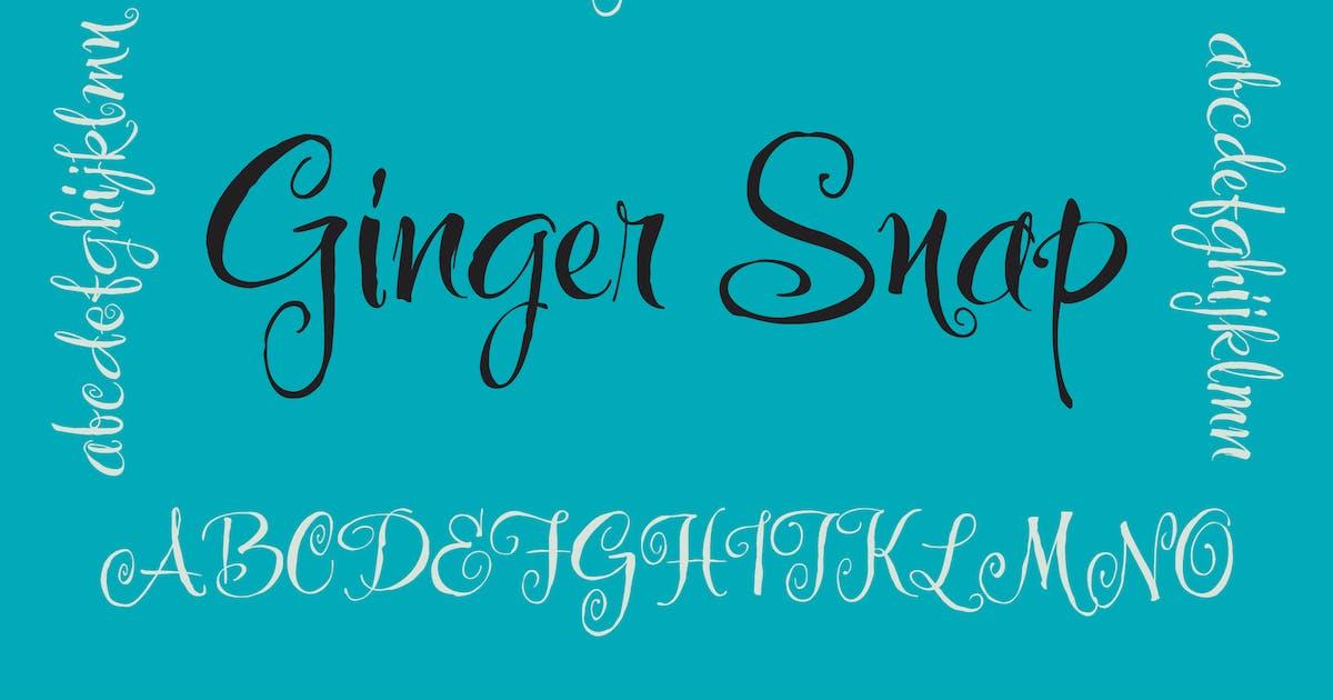 Download Ginger Snap by WalcottFonts