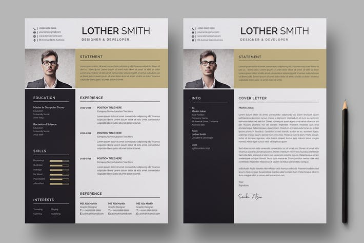 Thumbnail for Resume Template 158