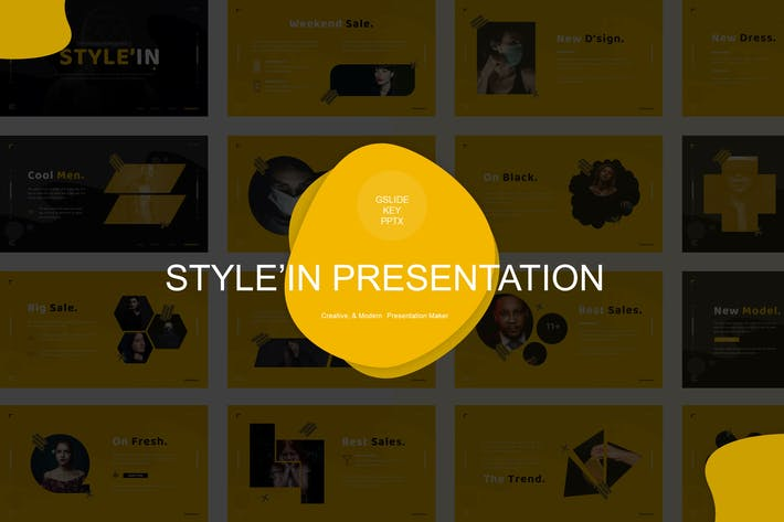 Thumbnail for Style'in Template Presentation Template
