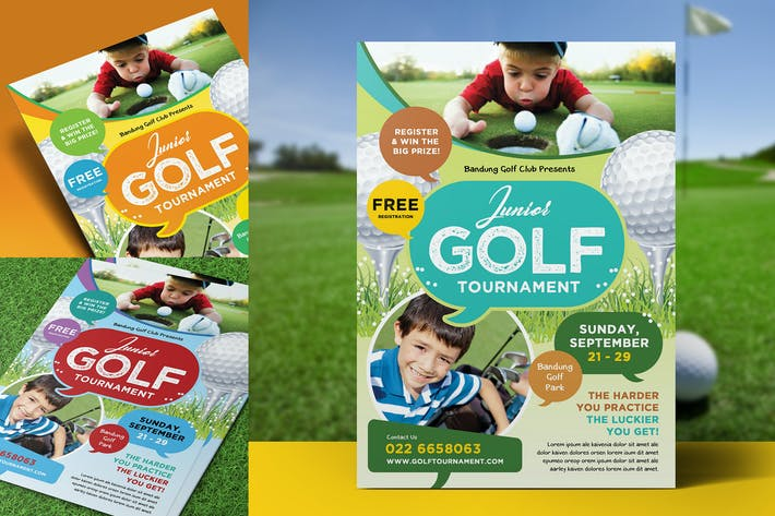 Thumbnail for Kids Charity Golf Flyer