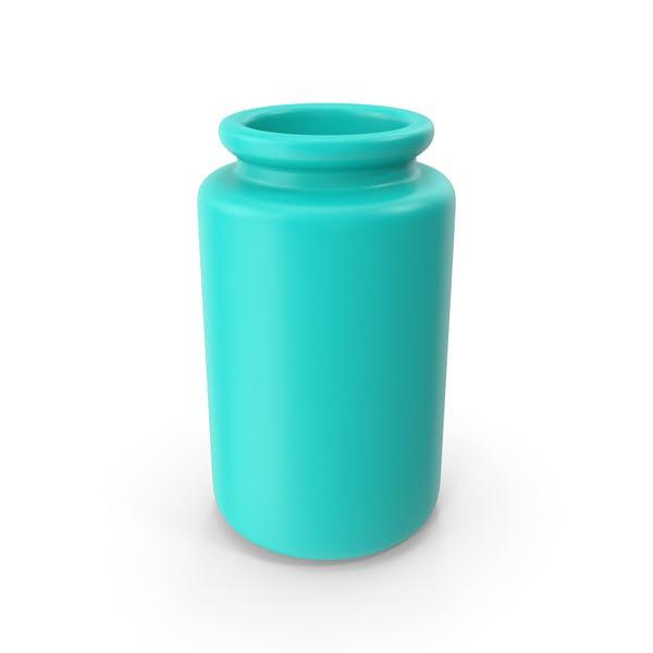 Ceramic Bottle Blue