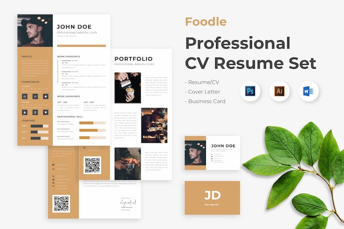 Thumbnail for CV Resume Barista