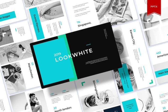 Lookwhite | Шаблон Powerpoint