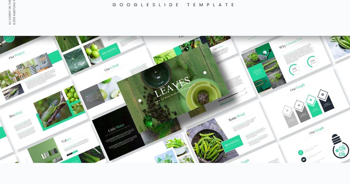 Download Leaves - Google Slides Template by aqrstudio