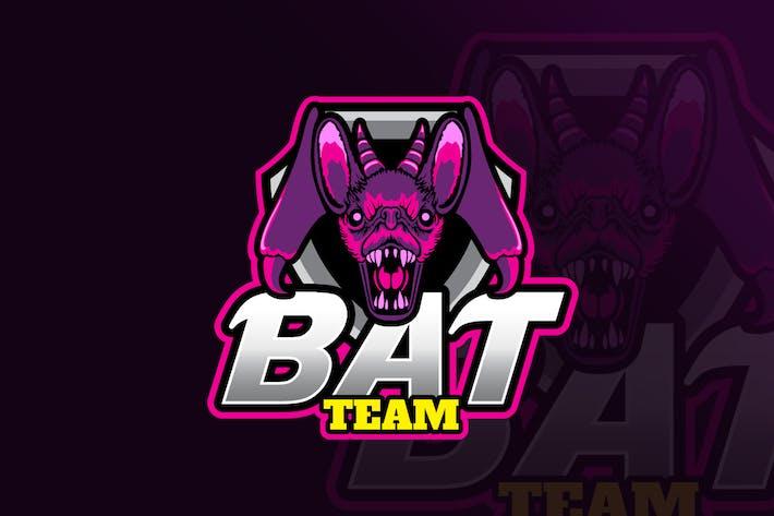 Thumbnail for Bat Mascot & eSports Gaming Logo