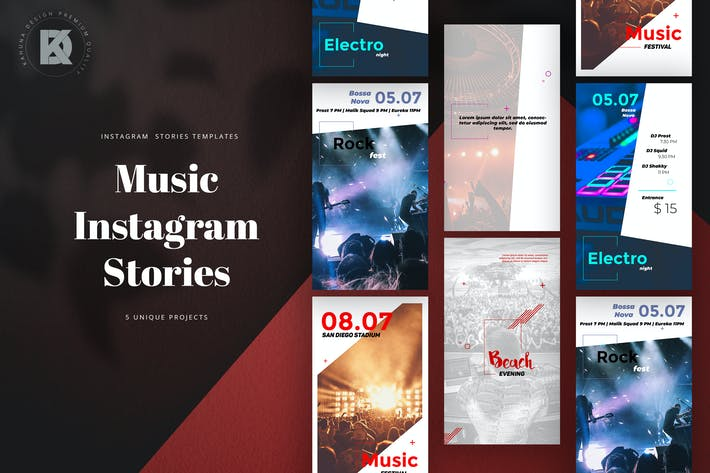Cover Image For Music Instagram Stories