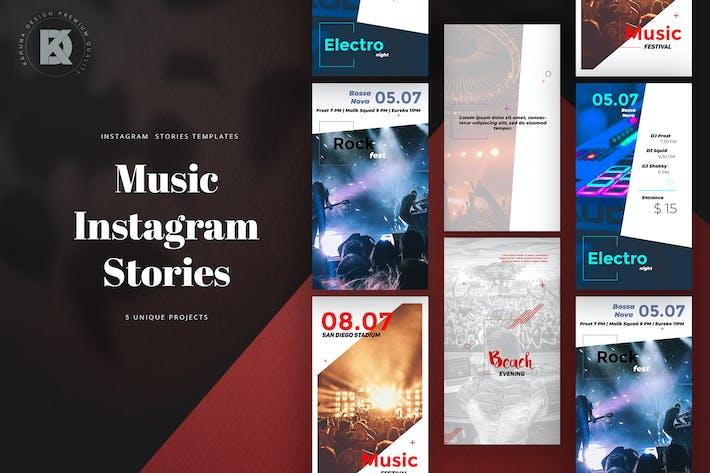 Thumbnail for Musik Instagram Stories