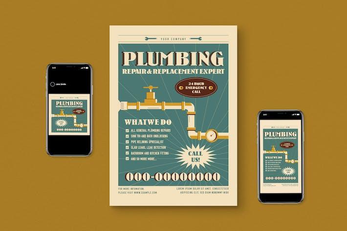 Plumbing Service Flyer Pack