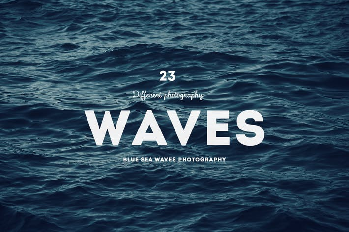 Thumbnail for Blue sea waves photography