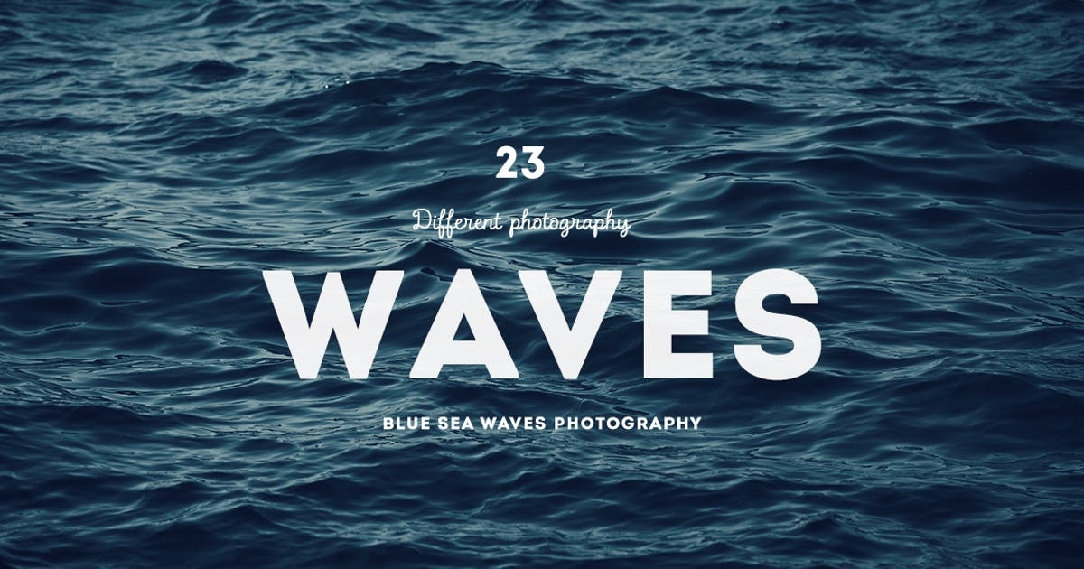 Download Blue sea waves photography by mamounalbibi