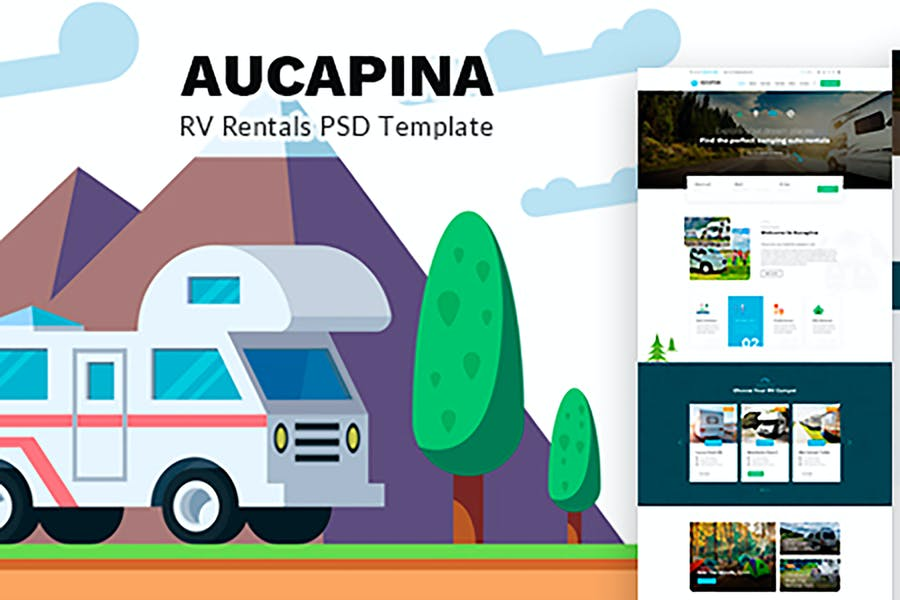 Aucapina - Camping Auto rentals