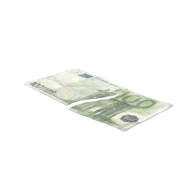 Thumbnail for 100 Euro Bill Torn
