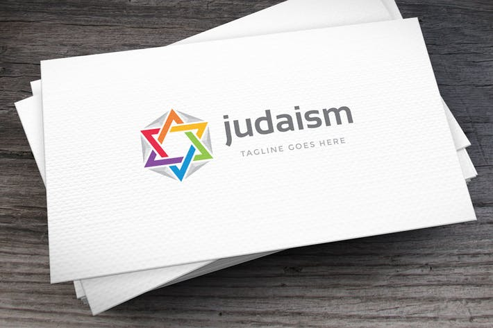 Thumbnail for Judaism Logo Template