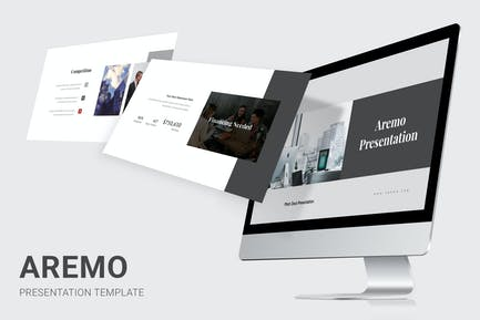 Aremo - Pitch Deck Powerpoint