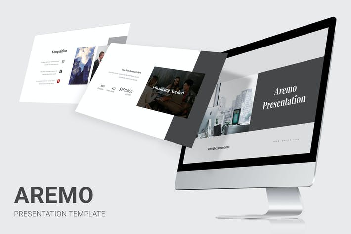 Thumbnail for Aremo - Pitch Deck Powerpoint