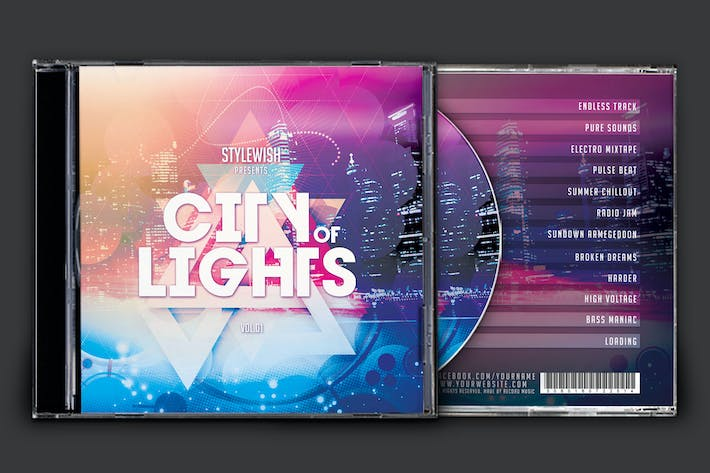 Cover Image For City of Lights CD Cover Artwork