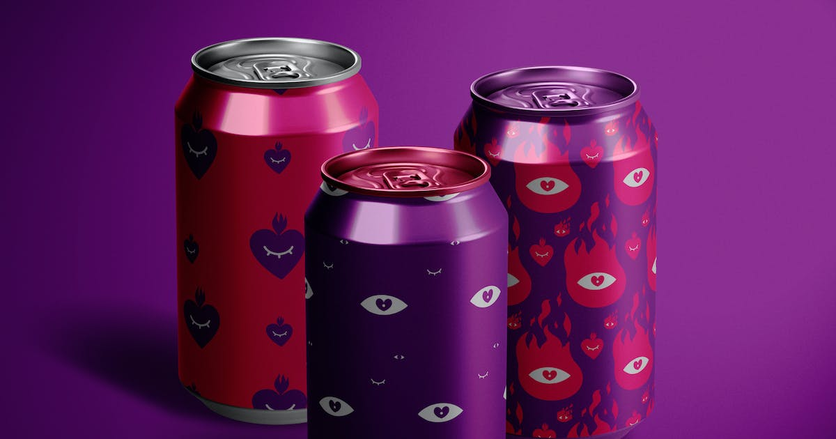 Download Can Mockup by helloDigi